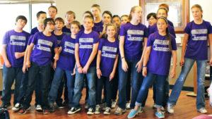 Middle School Choir at Foothills Church in Ahwatukee, Phoenix, Arizona